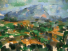 Paul Cezanne am Mt. Saint Victoire